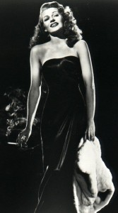 Rita Hayworth Gilda Dress