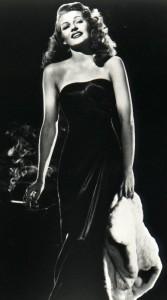 Rita Hayworth Gilda Dress