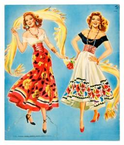Rita Hayworth Paper Dolls