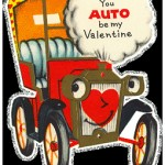 Anthropomorphic Auto Car Valentines