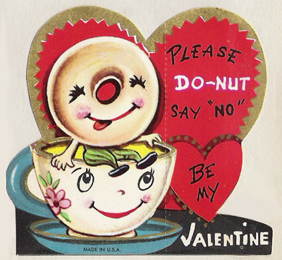 Happy Anthropomorphic Valentines Day Pinup Antiques Fashion