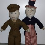 Antique Dolls Soldier Uncle Sam