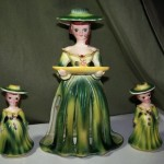 Vintage Kriess Napkin Doll and salt pepper shakers