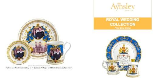 william and kate royal wedding memorabilia. kate and william royal wedding