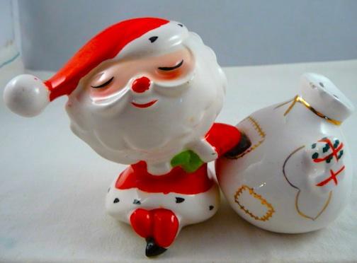 Collecting vintage santa claus salt & pepper shakers pinup