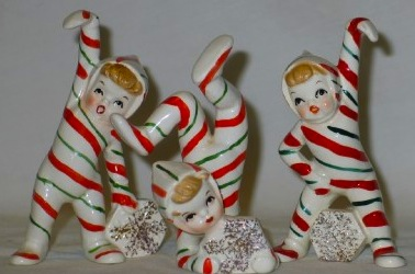 i - 1950s Christmas Decorations