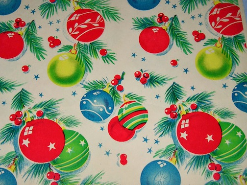 as christmas approaches we are preparing to wrap the gifts we have for friends and family and i am finding so much vintage gift wrap paper from the 1950s - Vintage Christmas Gifts
