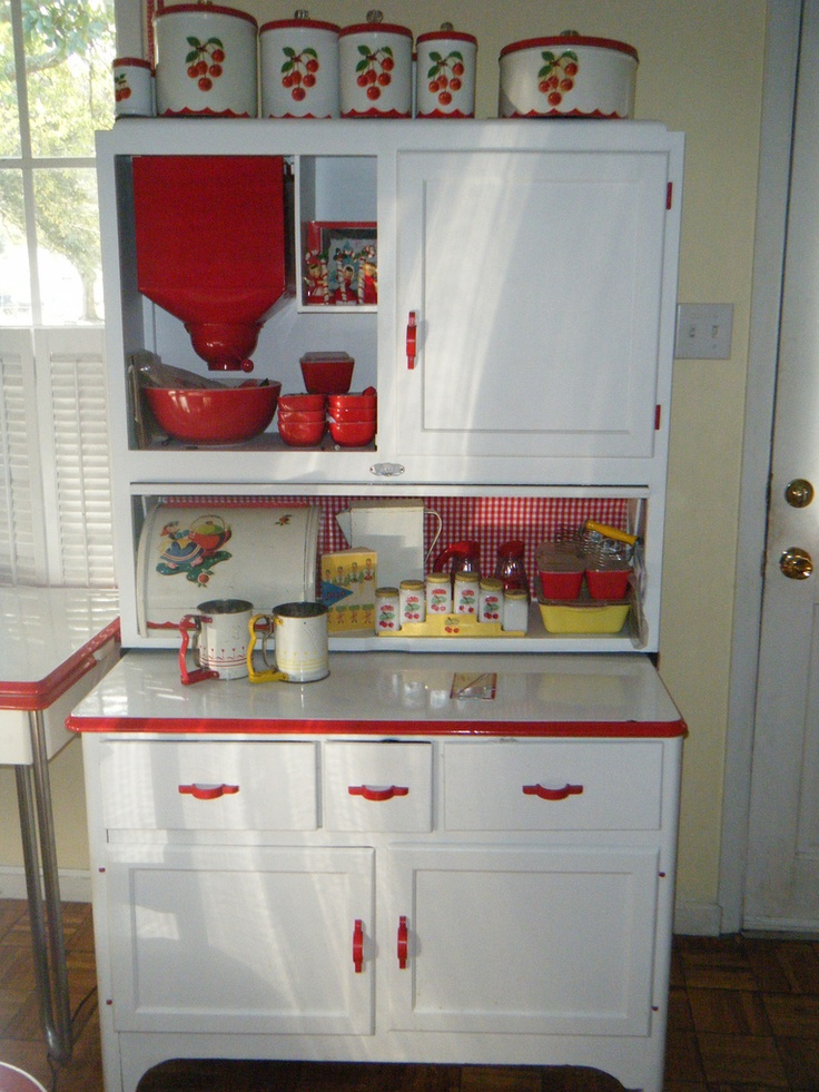 The Hoosier Cabinet Co That Started Selling These One Piece Cabinets