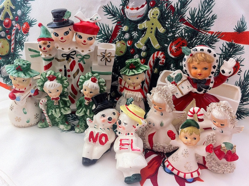 vintage christmas colectibles