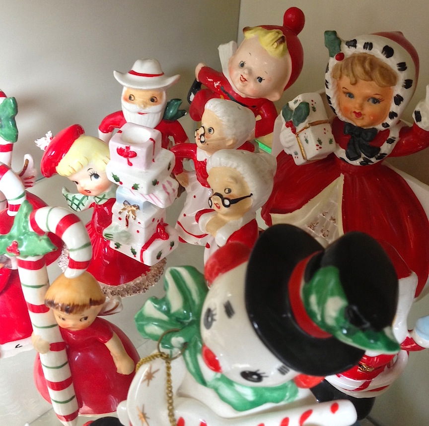 vintage christmas napco lefton