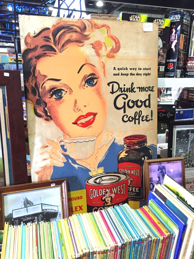 Vintage Coffee Sign Ephemera