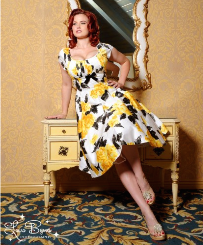 Crazy4Me Evelyn Dress Pinup Girl