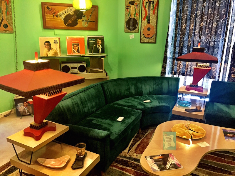 Midway Antique Mall Green Room Mid-Century Modern