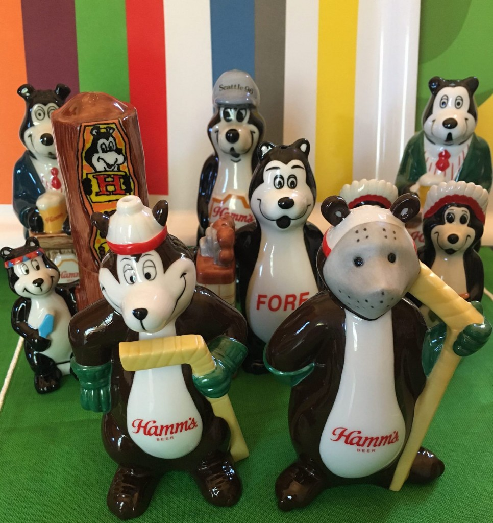 Hamm's Bear Bears Collection