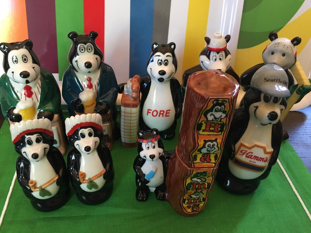 Hamm's Beer Bear Collection