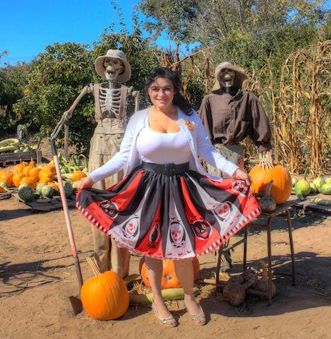 Yasmina Greco Pinup Crazy4Me Halloween