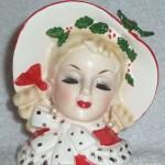 Vintage Inarco Christmas Headvase
