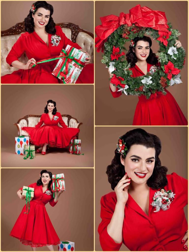 Yasmina Greco Crazy4me Pinup Christmas