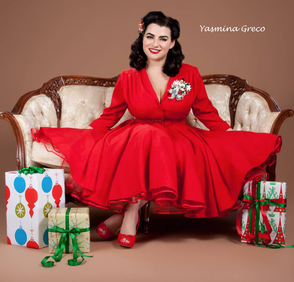 Yasmina Greco Heart of Haute Pinup