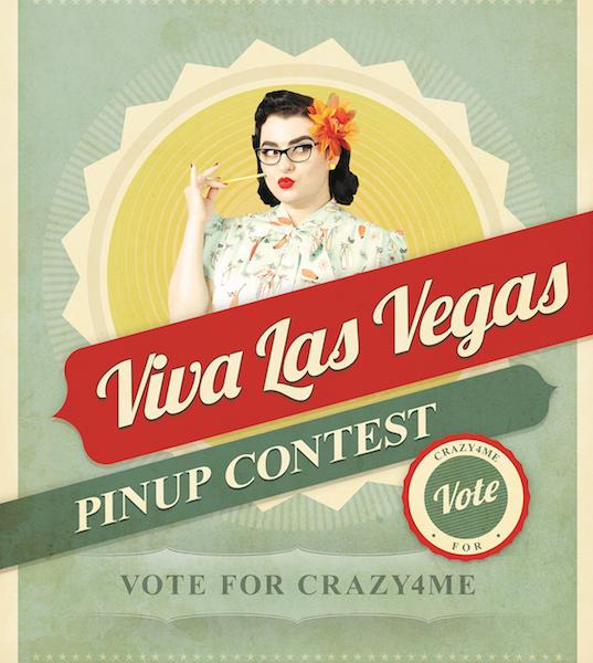 Craz4Me Viva Las Vegas Pinup Contest Yasmina Greco