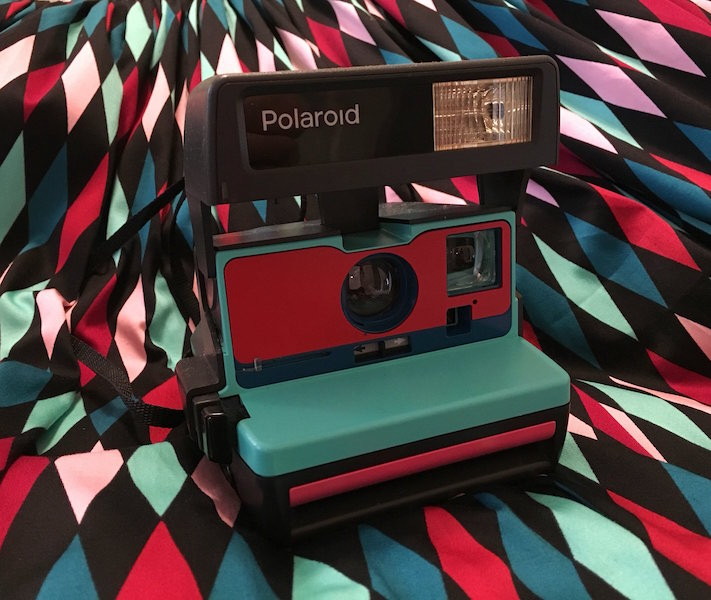 Upcycledclassics Pinup Polaroid Camera