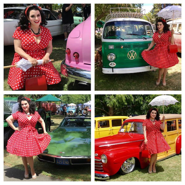 Yasmina Greco Rockabilly Vintage Model Pinup Girl