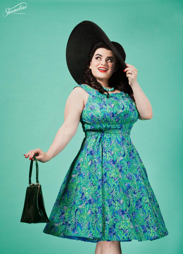 Yasmina Greco - Heart og Haute Amanda Phoebe Paisley Dress