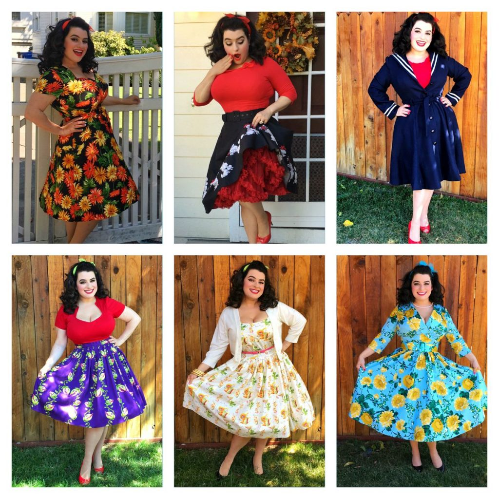 Yasmina Greco - Fall Pinup Girl Outfits