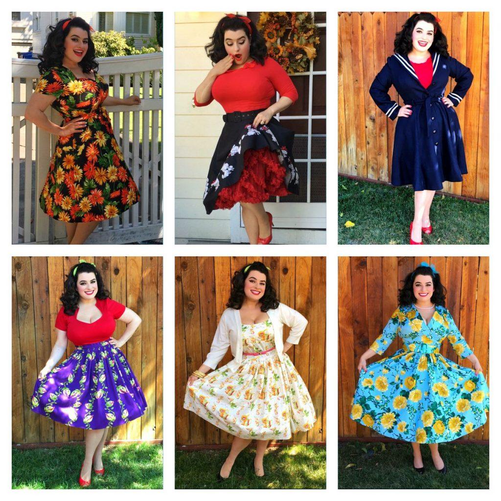 Yasmina Greco - Fall Pinup Girl Outfits
