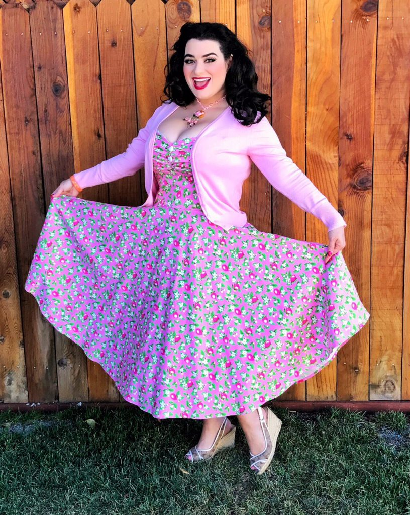 Yasmina Greco - Pinup Girl Clothing Nancy Dress