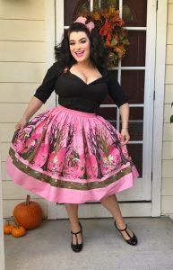 Yasmina Greco - Hansel and Gretel Skirt Pinup Girl