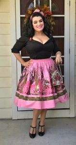 Yasmina Greco - Hansel and Gretel Skirt Pinup