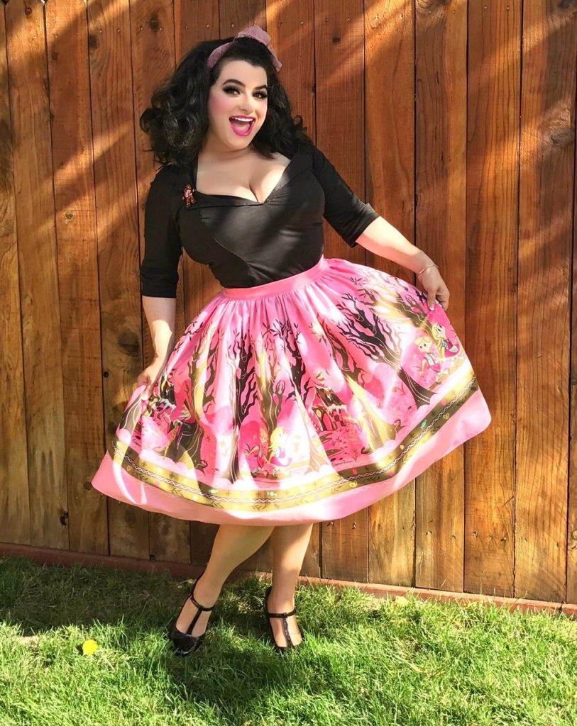 Yasmina Greco - Hansel and Gretel Skirt Stephanie Buscema Pinup Girl