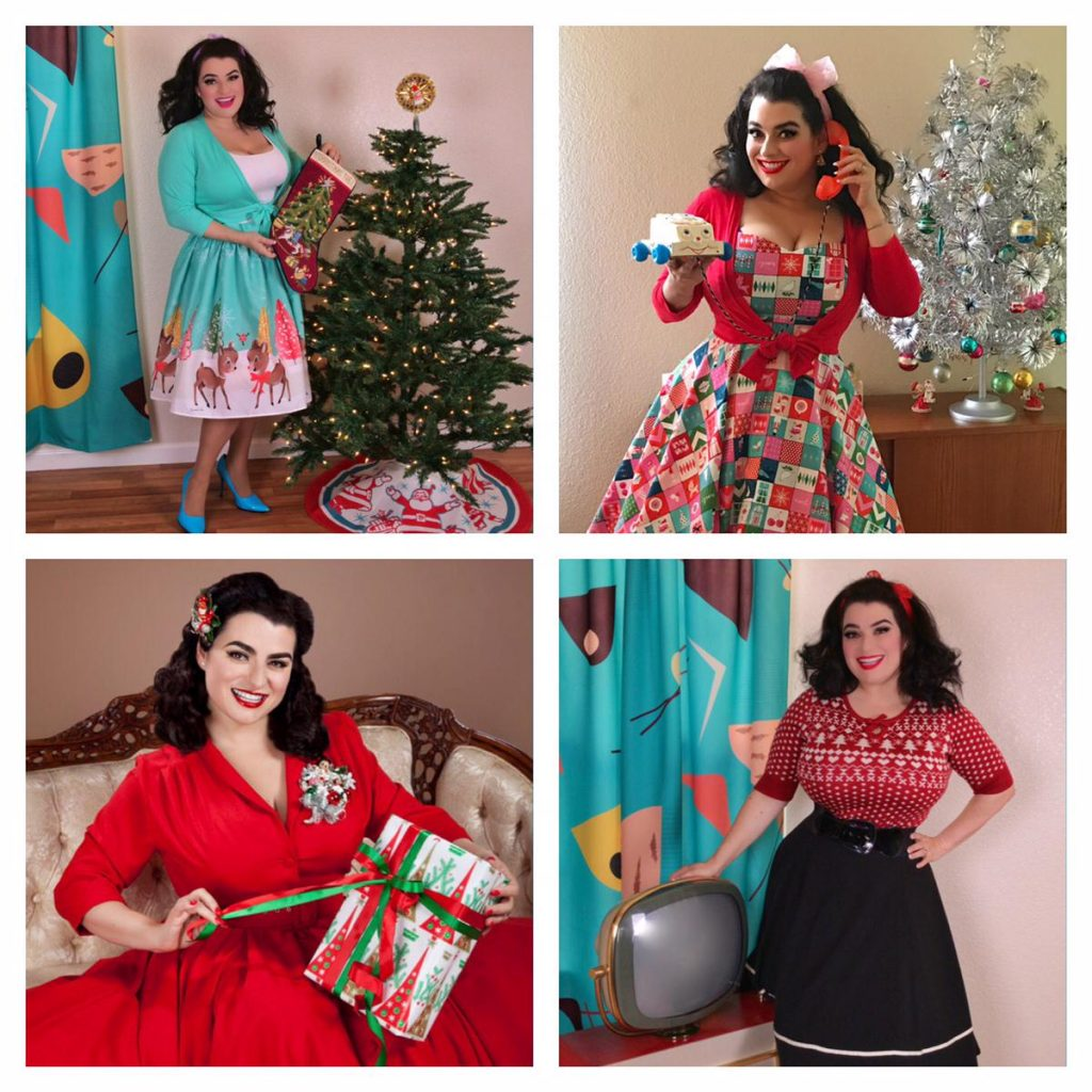 Yasmina Greco Pinup Christmas Part 2