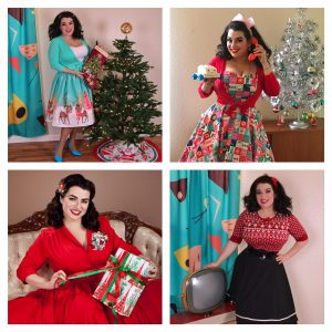 Yasmina Greco Pinup Christmas Part 2