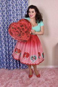 Valentines Day Pinup - Yasmina Greco