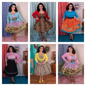 Yasmina Greco - Week in Pinup Rockabilly Outfits