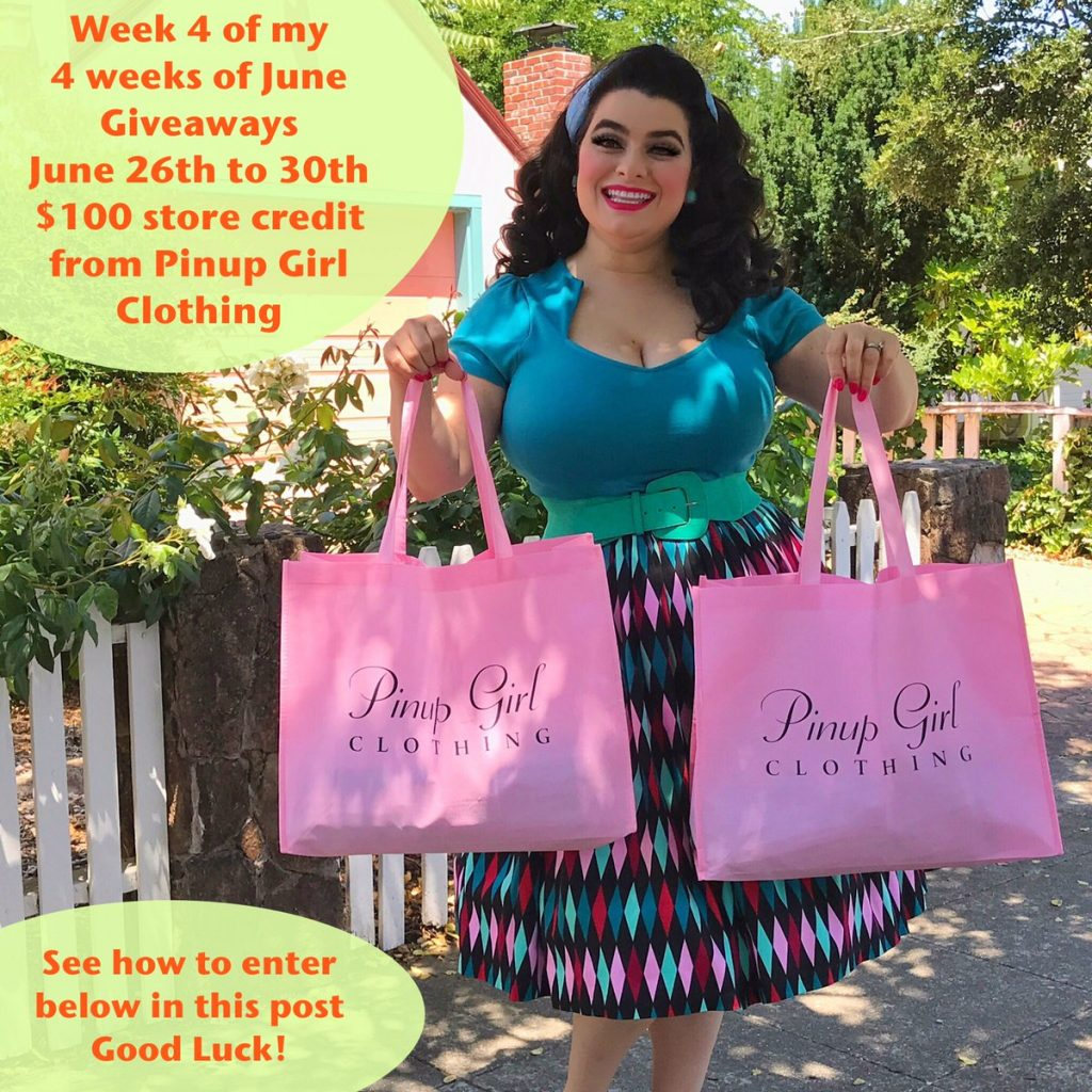 Yasmina Greco - Pinup Girl Clothing Giveaway