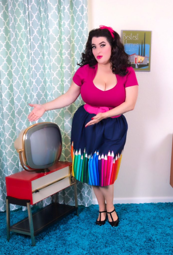 Yasmina Greco - ModCloth Pencil Skirt