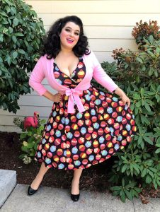 Yasmina Greco Lyra Dress Cute As A Cupcake Lady Voluptuous