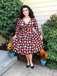 Yasmina Greco Lyra Dress Cute As A Cupcake Lady Voluptuous