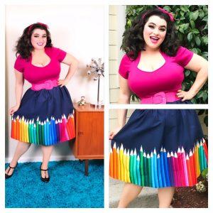 Yasmina Greco - A-Line Modcloth Pencil Skirt