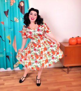 Yasmina Greco - Hell Bunny Harvest Dress