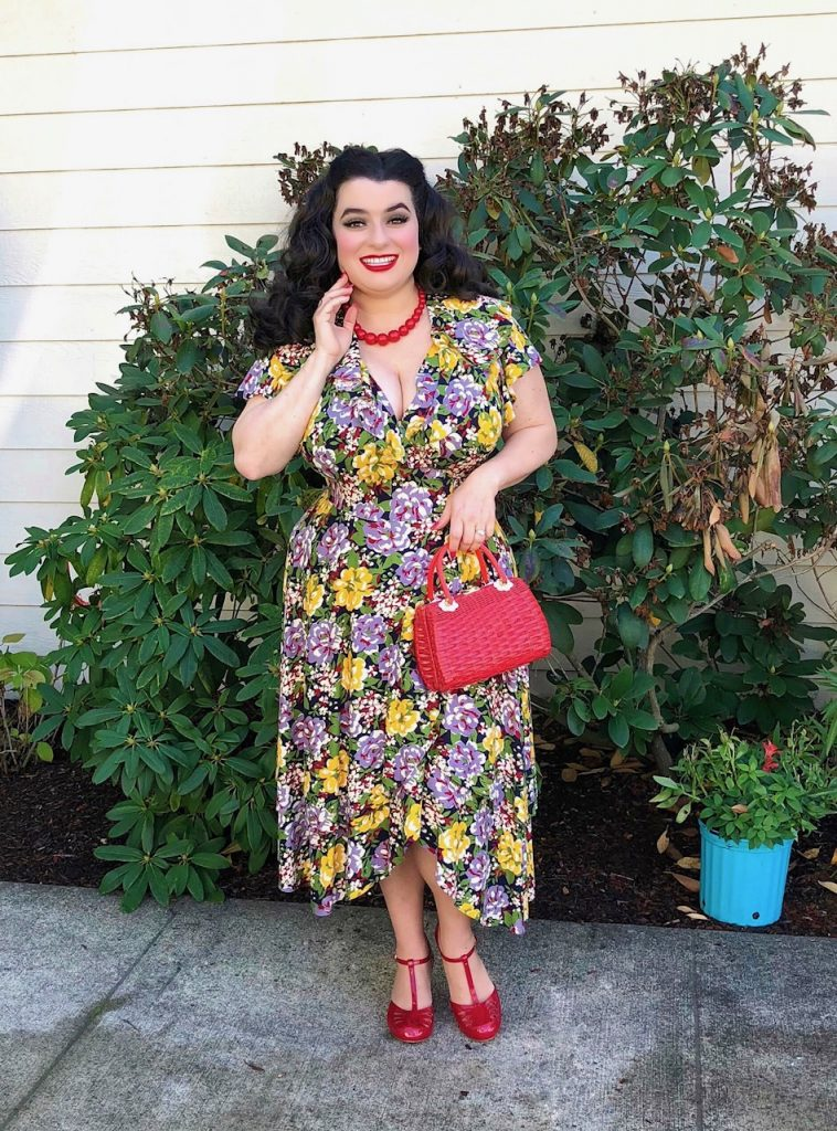 Yasmina Greco - Trashy Diva Blanche Dress Victory Floral