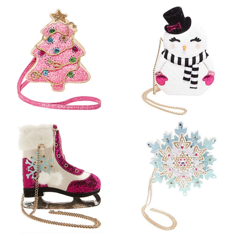 Betsey Johnson Christmas Novelty Purses