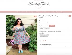 Yasmina Greco Heart of Haute Donna Dress