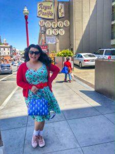 Yasmina Greco Googie Sign Royal Pacific Motor Inn San Francisco