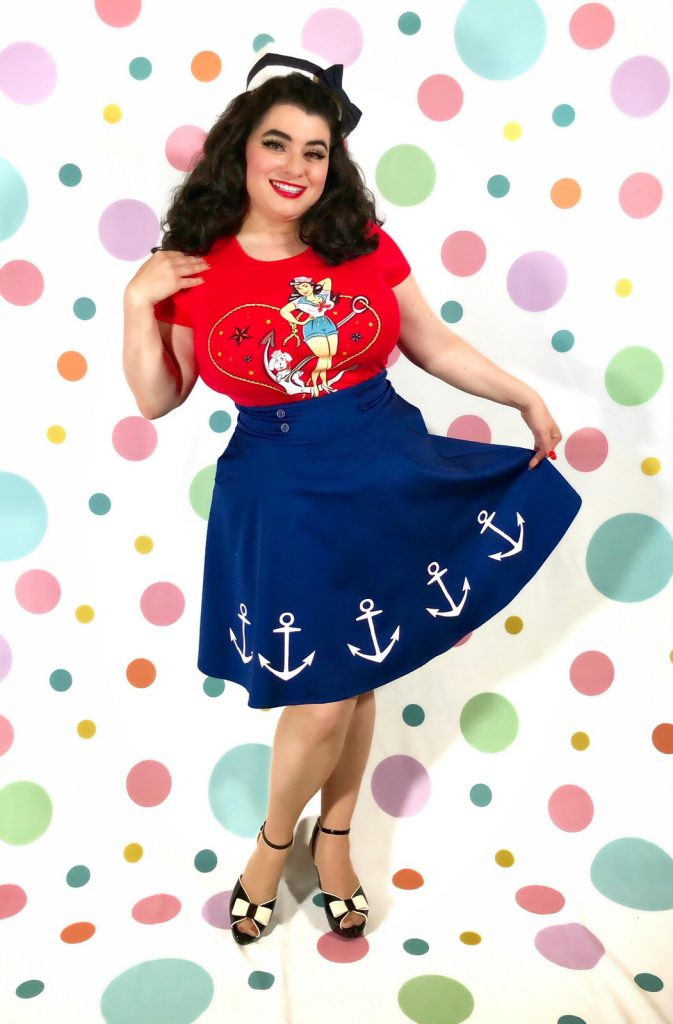 Seaside Sweetie T-Shirt Sailor Girl Crazy4MeStyle