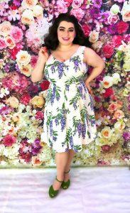 Joanie Clothing Wisteria Dress Yasmina Greco