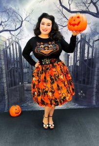 Artisan Skirt Halloween Cat skirt Sourpuss Lucy Fur Sweater